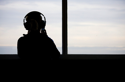 Headphones at the Window