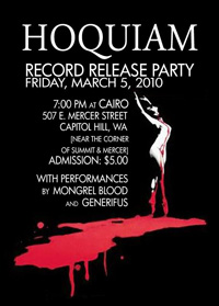 Hoquiam CD Release