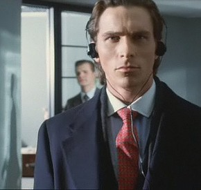 American Psycho Walking Headphones