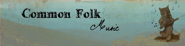 Common Folk Music Banner