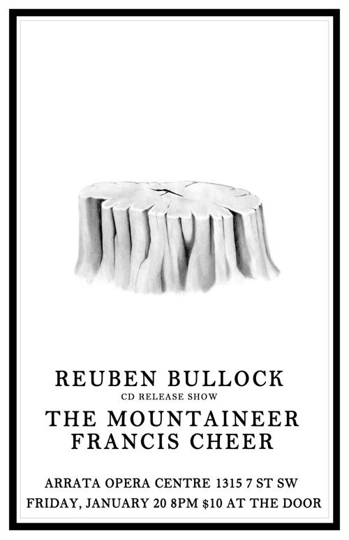 Poster Release 2012 Bullock cd Release Poster