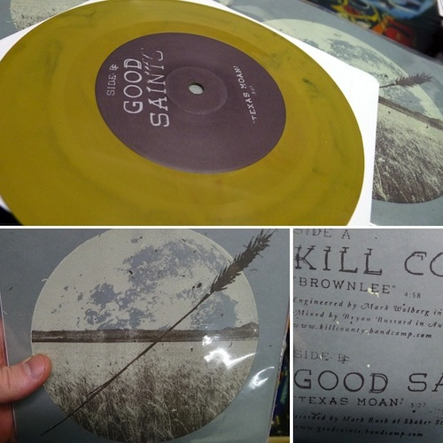 "Good Saints / Kill County 7"" Split"
