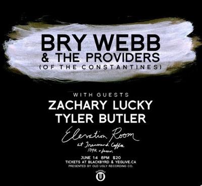 Bry Webb Zachary Lucky Tyler Butler June 14th