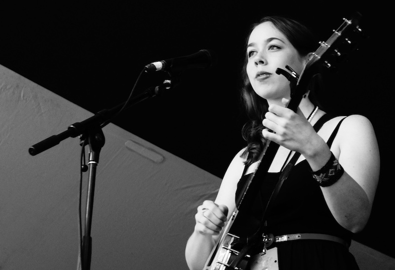 Sarah Jarosz at Calgary Folk Music Fest 2012