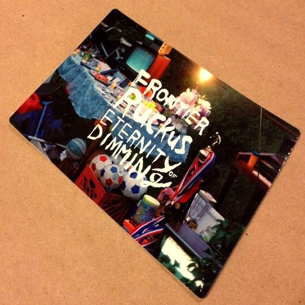 Frontier Ruckus Postcard-Sticker