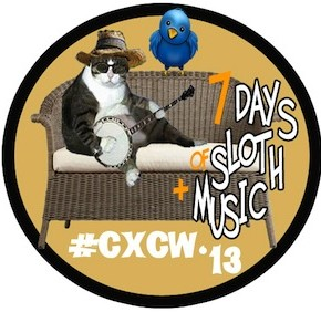 CXCW 2013 Button