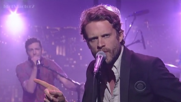 Father John Misty on the David Letterman Show