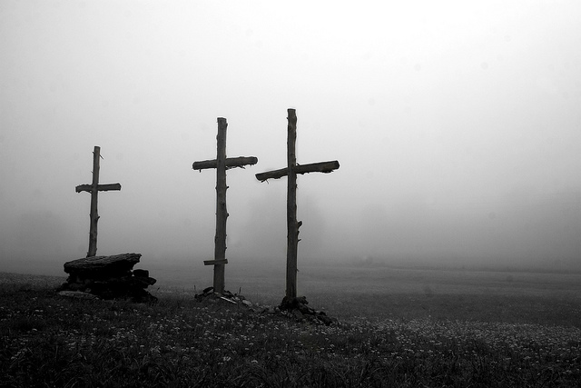 The Crosses on Good Friday
