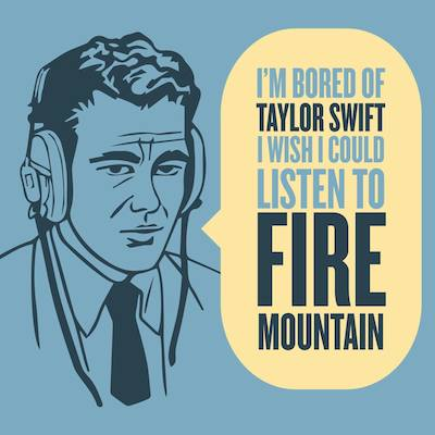 Listen to Fire Mountain
