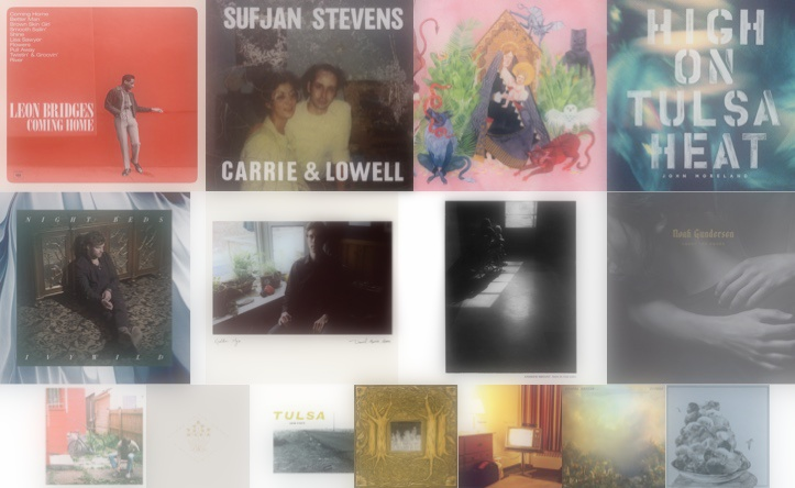 Slowcoustic's Favourite Albums of 2015